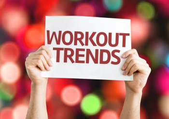 Workout Trends card with colorful background