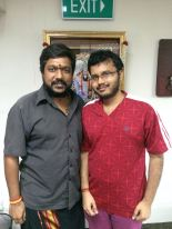 JK Saravanan with Nithish